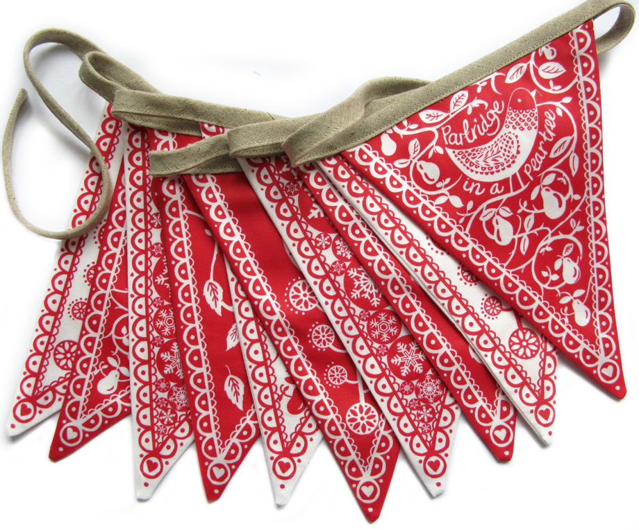 Made out of love » Blog Archive » Christmas bunting